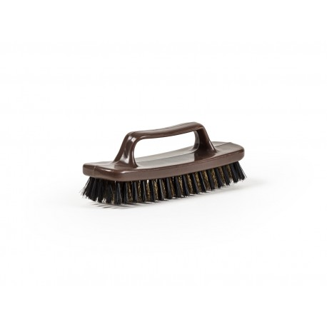 HARD BRUSH FOR FOOTWEAR MADE IN SUEDE LEATHER
