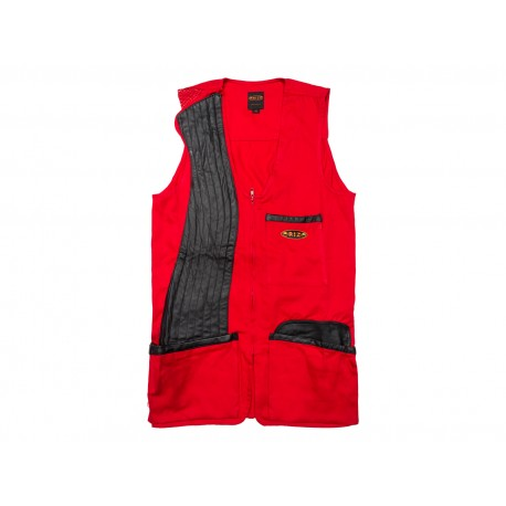 100% COTTON TRAP SHOOTING VEST   RIGHT-HANDED