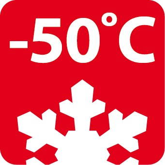 Thermal Efficiency: -50 °C
